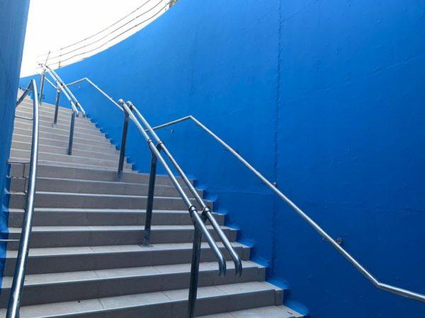 Escalera océanos – Oceanografic Valencia